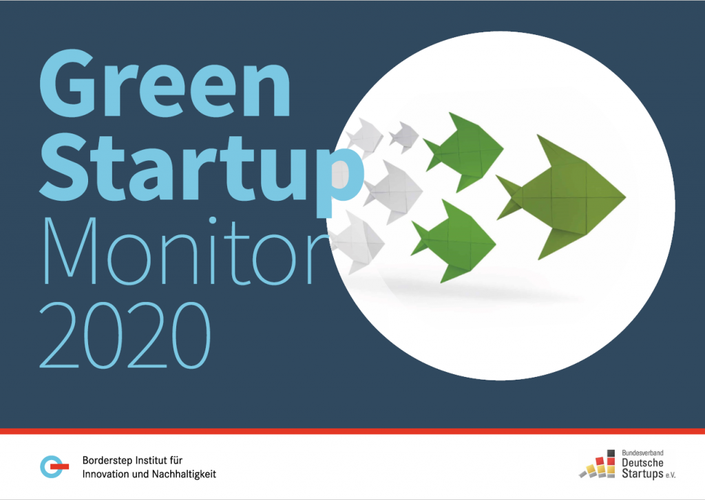Title Page - Green Startup Monitor 2020